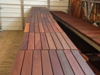 Exterior - Staining Hardwoods for Decking